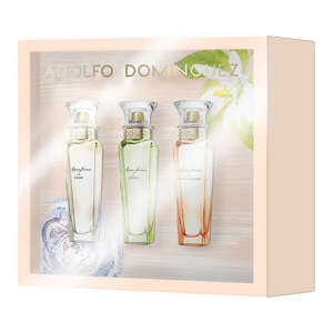 Adolfo Dominguez Agua Fresca Eau De Toilette Spray 30ml Set 3 Parti 2017
