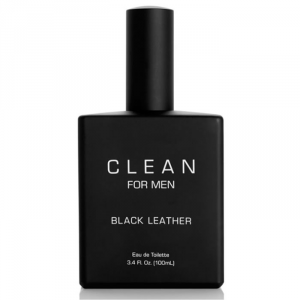 Clean For Man Black Leather Eau De Toilette Spray 100ml