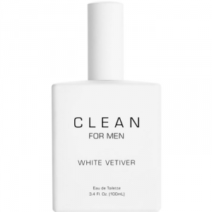 Clean For Men White Vetiver Eau De Toilette Spray 100ml