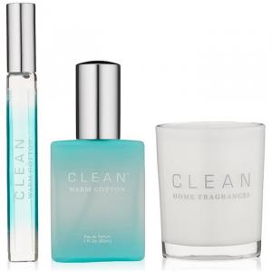 Clean Warm Cotton Eau De Parfum Spray 30ml Set 3 Parti 2017
