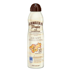 Hawaiian Tropic Silk Hydration Air Soft Sunscreen Mist Spf30 177ml