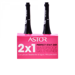 Astor Perfect Stay Waterproof Gel Eyeliner 01 Black Set 2 Parti 2017