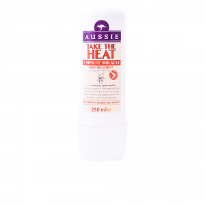 Aussie Take The Heat 3 Minute Miracle Deep Treatment Maschera 250ml