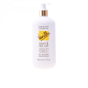 Alyssa Ashley Vanilla Bath And Shower Gel 500ml