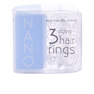 Invisibobble Hair Ring Nano Crystal Clear 3 Parti