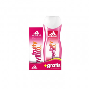Adidas Woman Fruity Rhythm Eau De Toilette Spray 50ml Set 2 Parti