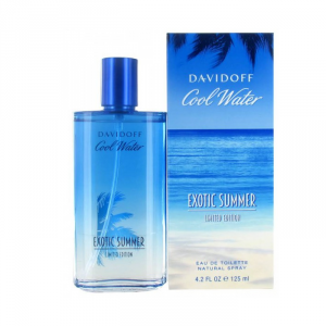 Davidoff Cool Water Exotic Summer Eau De Toilette Spray 125ml
