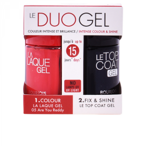 Bourjois Le Duo Gel 05 Are You Reddy Set 2 Parti