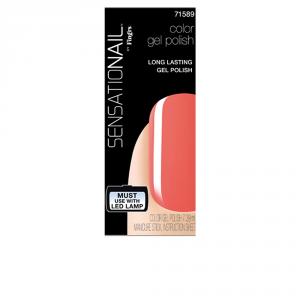 Sensationail Smalto Per Le Unghie Gel Color Coral Sunset 7,39ml