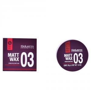 Salerm Cosmetics Matt Wax Strong Hold Matte Cera 50g