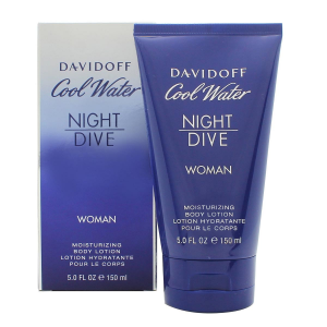 Davidoff Cool Water Night Dive Women Lozione Per Il Corpo 150ml