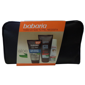 Babaria Men Aloe Idratante Anti Fatigue Fluid 150ml Set 3 Parti