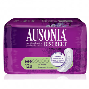 Ausonia Discreet Sanitary Towels  Normal Urinary Incontinence 12 Units