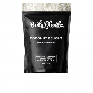 Body Blendz Coconut Delight Body Scrub 200g
