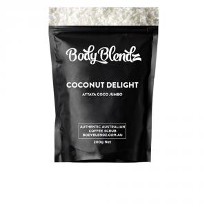Body Blendz Coconut Delight Body Scrub 200g