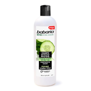Babaria Curly Shampoo Nutriente Con Cetriolo 400ml