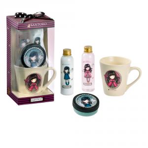 Santoro London Gorjuss Ladybird Latte Per Il Corpo 120ml Set 4 Parti