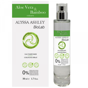 Alyssa Ashley Biolab Aloe Vera And Bamboo Eau Parfumee Cologne Spray 50ml