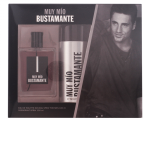 David Bustamante Muy Mio Eau De Toilette Spray 100ml Set 2 Parti 2017