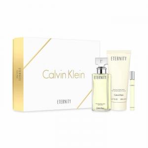 Calvin Klein Eternity Eau De Parfum Spray 100ml Set 3 Parti 2017