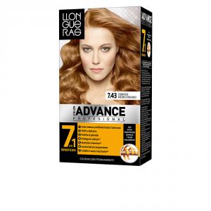 Llongueras Color Advance Hair Colour 7,43 Cobrizo Medio Dorado