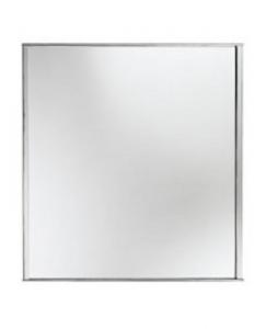 Specchio da bagno cm 76 x 65 serie Kubo Open Kristallux