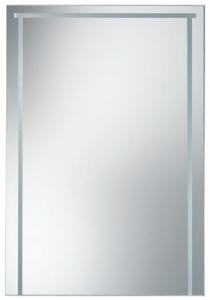 Specchio da bagno cm 45 x 67 serie Bingo Open Kristallux