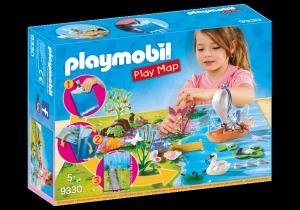 PLAYMOBIL PLAY MAP - IL LAGO DELLE FATE 9330