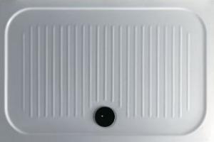 Piatto doccia per il bagno cm 80 x 100 H6 Flat Galassia