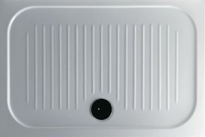 Piatto doccia per il bagno cm 75 x 110 H6 Flat Galassia