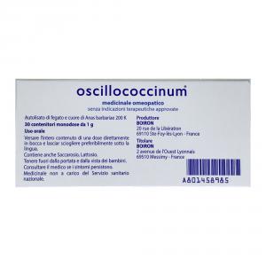 OSCILLOCOCCINUM 200K GLOBULI 30 DOSI - FARMACO OMEOPATICO