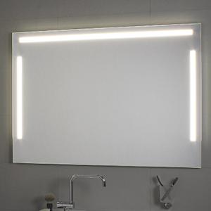 Specchio per il bagno cm 120 x 80 Tre luci Koh i Noor