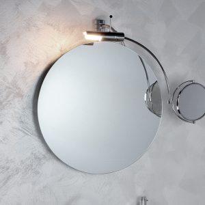 Specchio per il bagno Chiaro di luna cm 72 h 62 Koh i noor