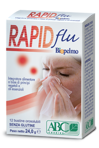 RAPID FLU per liberare e calmare le prime vie respiratorie