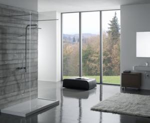 Piatto doccia per il bagno cm 100 x 80 Docciabella Globo