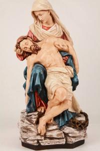 Statua della Pietà in resina PA615 h. 62