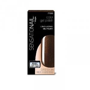 Sensationail Nail Polish Gel Color Expresso Bean 7.39ml