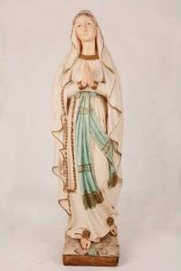 Statua Madonna di Lourdes in resina PA907B h. 80