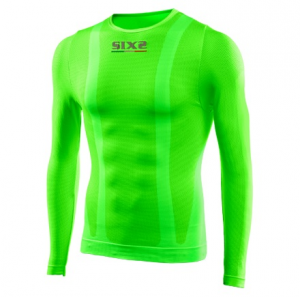 GIROCOLLO COLOR MANICHE LUNGHE SIXS TS2 C GREEN FLUO