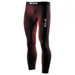 LEGGINGS CARBON UNDERWEAR SIXS PN2 CON FONDELLO DARK RED