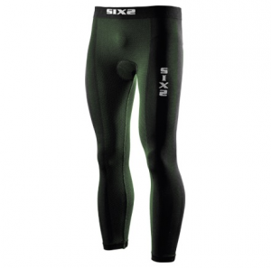 LEGGINGS CARBON UNDERWEAR SIXS PN2 CON FONDELLO DARK GREEN