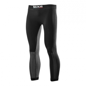 LEGGINGS WINDSHELL CARBON UNDERWEAR SIXS PNXWB BLACK CARBON