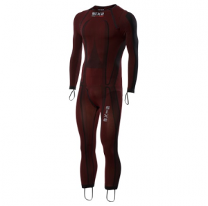 SOTTOTUTA MOTO INTEGRALE RACING CARBON UNDERWEAR SIXS STX R DARK RED