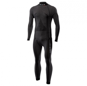 SOTTOTUTA MOTO LUPETTO INTEGRALE CARBON UNDERWEAR SIXS STX HIGH NECK BLACK CARBON