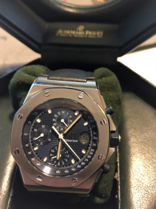 Orologio secondo polso Audemars Piguet Royal Oak Offshore Chronograph