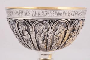 Calice coppa argento con patena MOLACE197