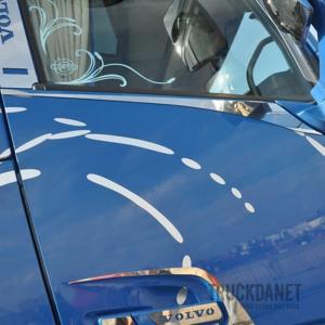VOLVO Lower Window Profiles With 'Arrow' Decoration