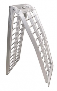 Aluminium Folding Motorcycle Ramp, 2390x440mm, max. load 600kg