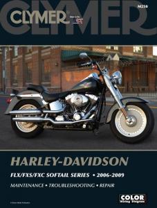 Clymer Book HD M250