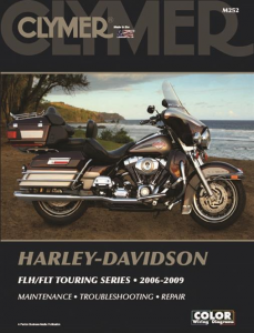 Clymer Book HD M252